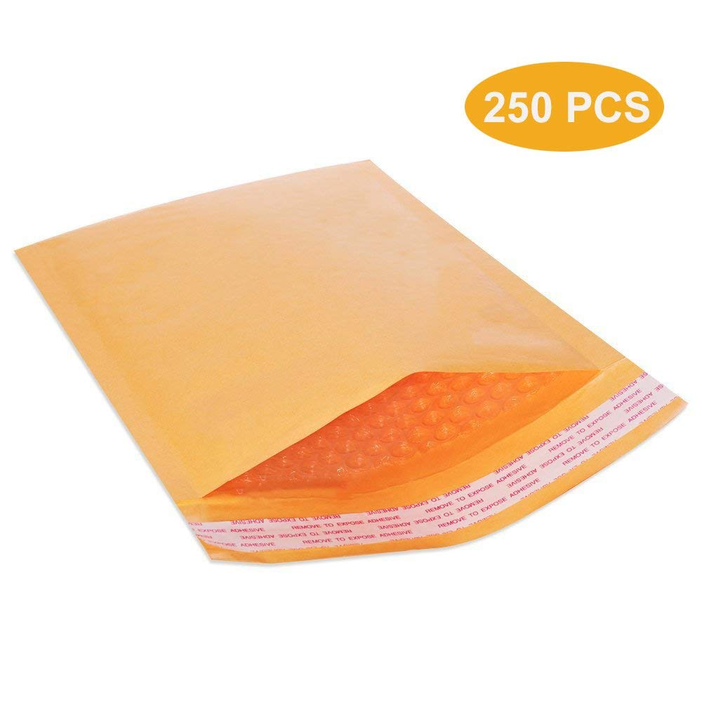 100 #4 9.5x14.5 Poly Bubble Lined Mailers Padded Envelopes Mail Bags 9.5 x 14.5