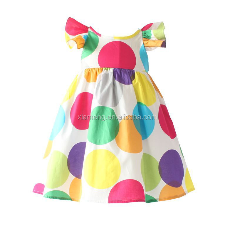 New style baby girl dress 2016 hot sale bow sleeveless party girl dress
