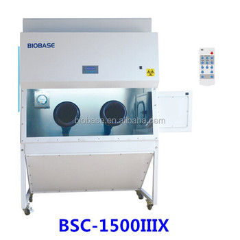 BIOBASE China Class Iii Biological Safety Cabinet Price With Pass Box