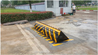 Hydraulic car parking spike automatic A3 carbon steel road block equipment