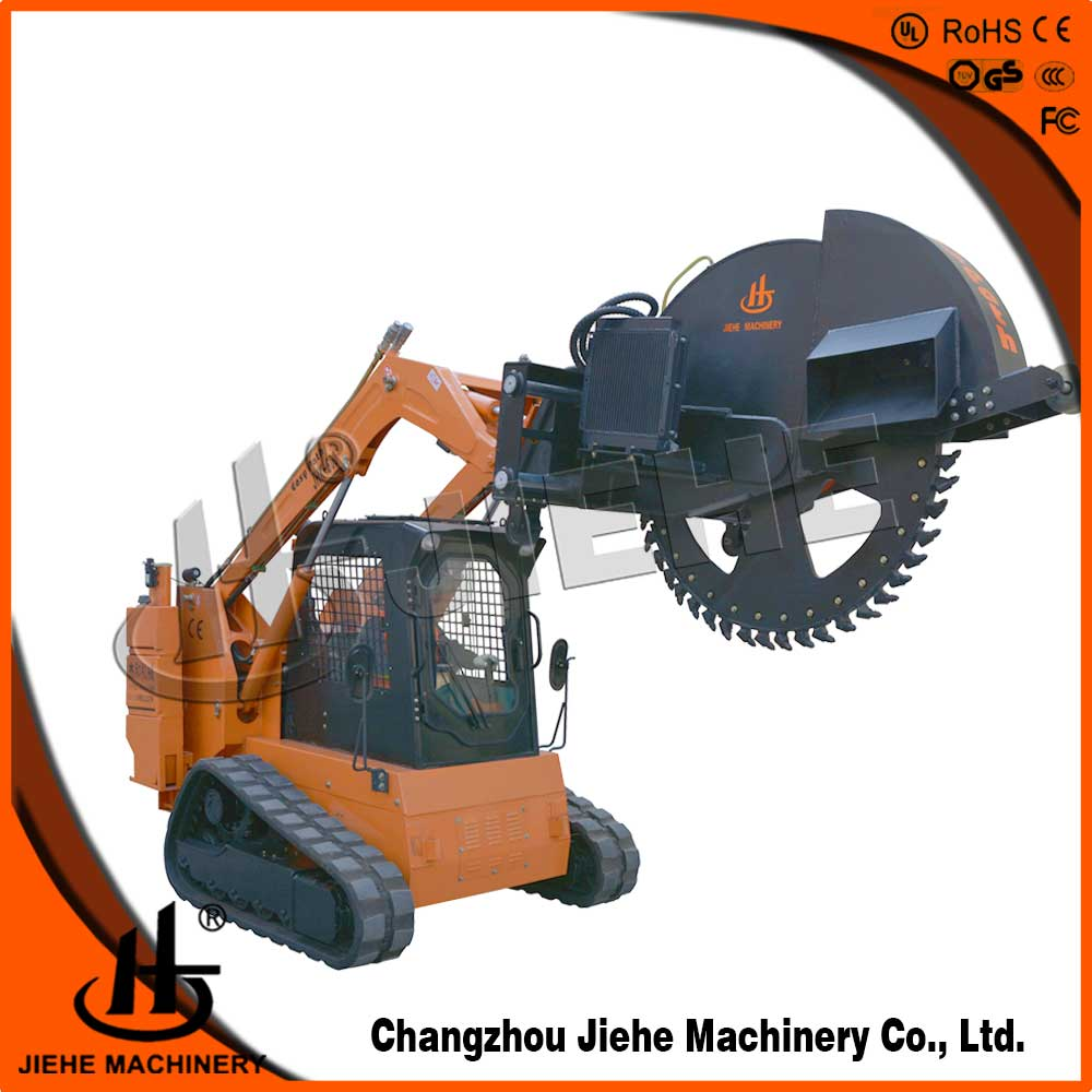 Micro trencher fiber optic cable laying(JHK-600)