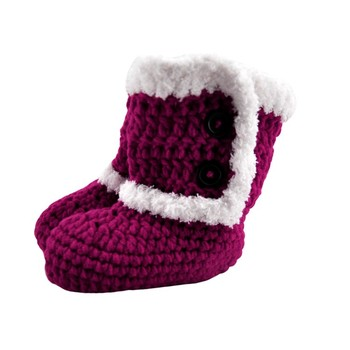 Wholesale Cotton Hand Knitted Baby Booties Free Patterns Buy Baby
