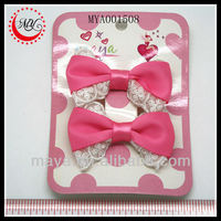 Beautiful kids wholesale hair bow supplies(approved by BV)