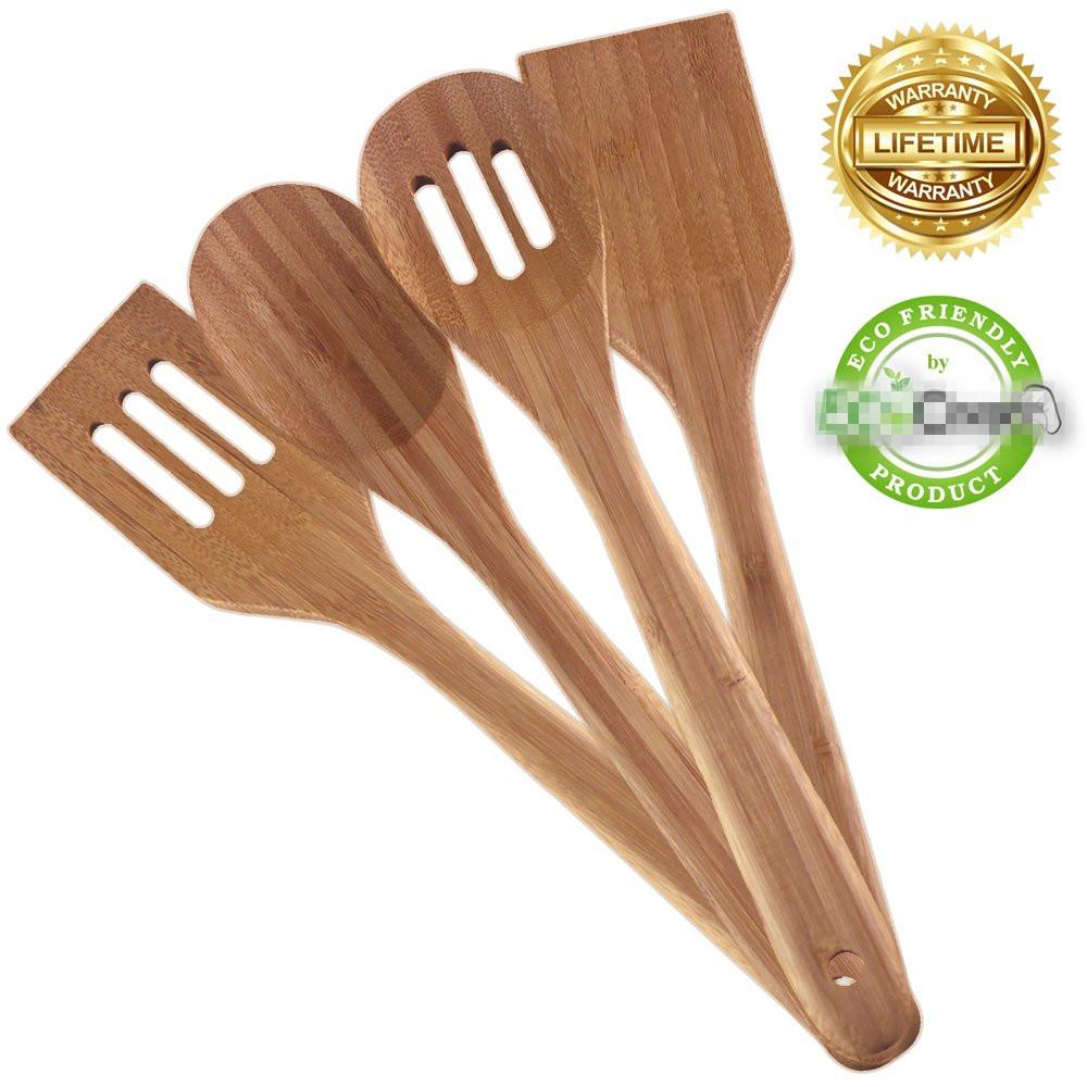 High Quality bamboo utensil set 7
