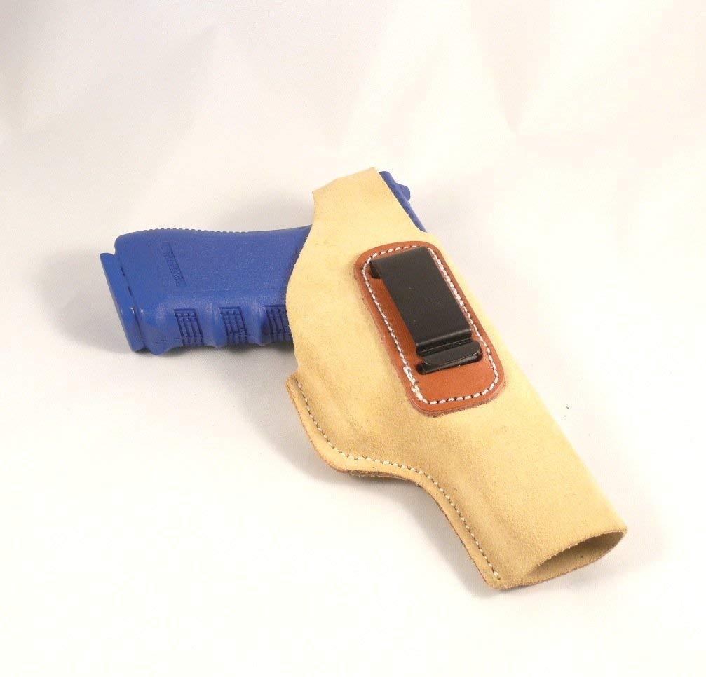 Glock 17, Glock 22 Concealed Carry Suede IWB - Inside The Pants Clip Pistol Holster