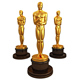 High quality life size fiberglass oscar award statue for sale