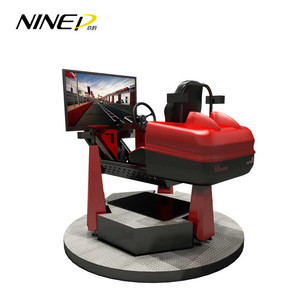 360 Degree 9D Car Racing Games Virtual Reality Racing 9D VR Machine Seat Simulator