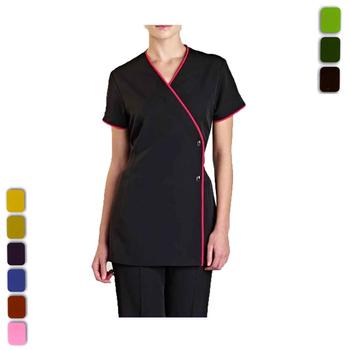 Chinese spa salon uniform beauty spa uniform suit hair for Spa uniform china