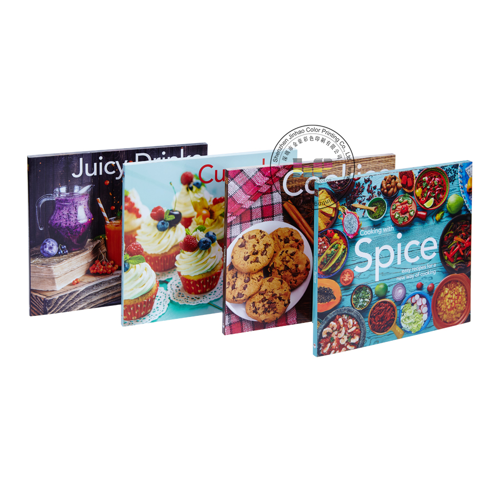Wholesale Custom Softcover Perfect Binding Cook Book