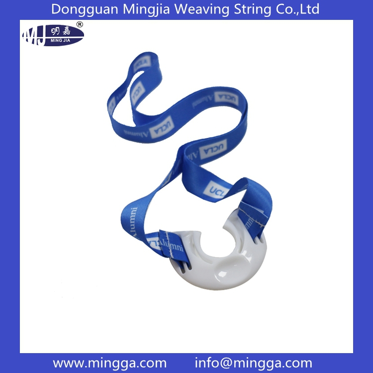 Plastic buckle pringting water bottle holder lanyard for wholesale