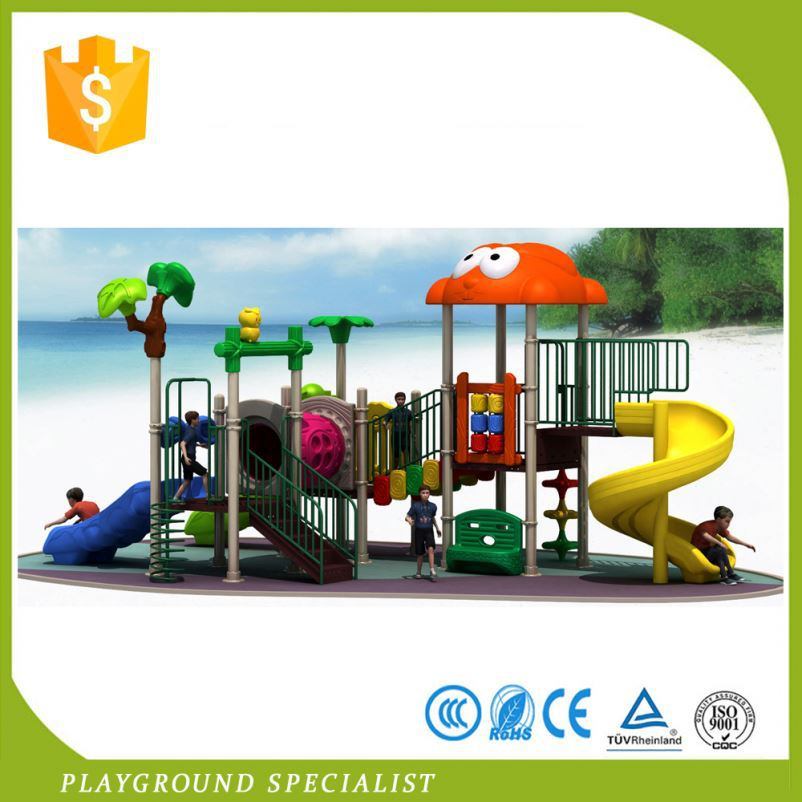 Cheap Kids Games Plastic Slides Outdoor Furniture Playground