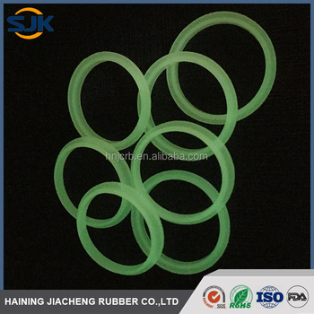 Rubber Siilcone O-rings Manufacturer/molded O Rings /glow In The ...