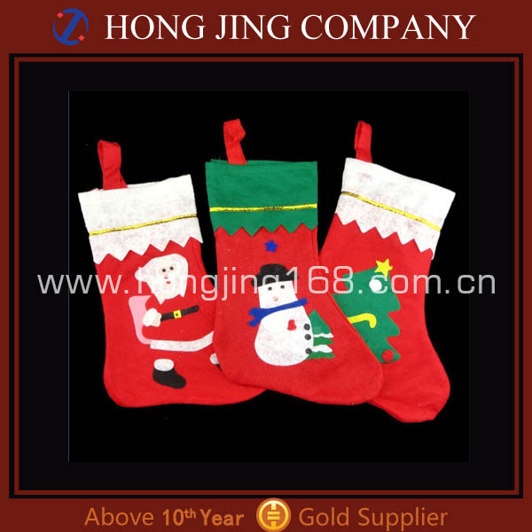 Wholesale Christmas socking with Santa