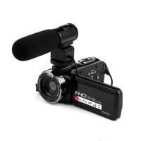 "Full HD 1080P Portable mini Camcorders DV 3.0"" Rotating LCD Touch Screen 16x Zoom 24MP Anti-shake Digital Camera Video"