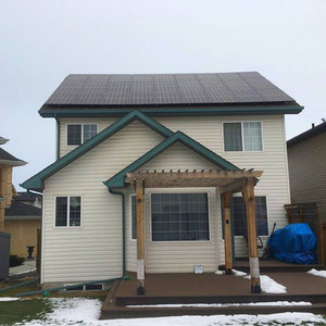 Residential roof 5KW solar power system 5000watt off grid home PV system