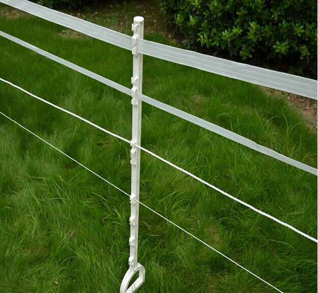 Plastic Tread-in Strip Graze Poly Tape Electric Fence Post