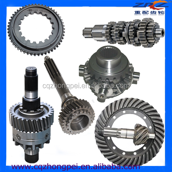 Steel Material Parts Transmission Gearbox