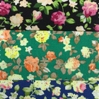 China factory wholesale custom print flower cotton fabric for dresses