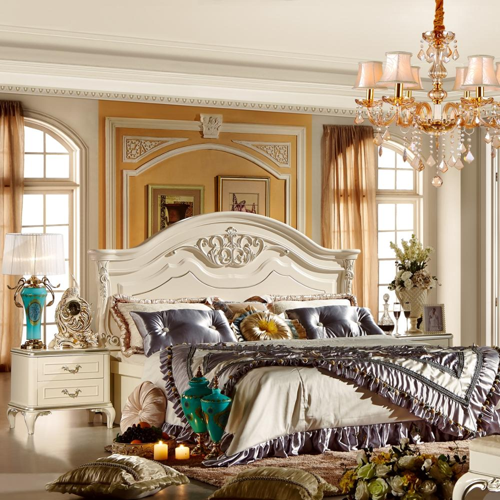 French Provincial Cream Colored Bedroom