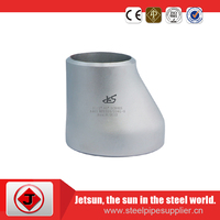 ECC reducer galvanized surface BE end