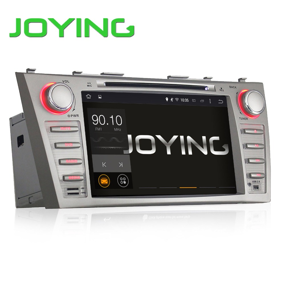 JOYING 8 inch In Dash HD Touch Screen <strong>Car</strong> head unit capacitive touch panel HD screen <strong>toyota</strong> highlander gps navigation