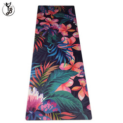 Custom Logo Anti-slip eco friendly yoga mat with bag