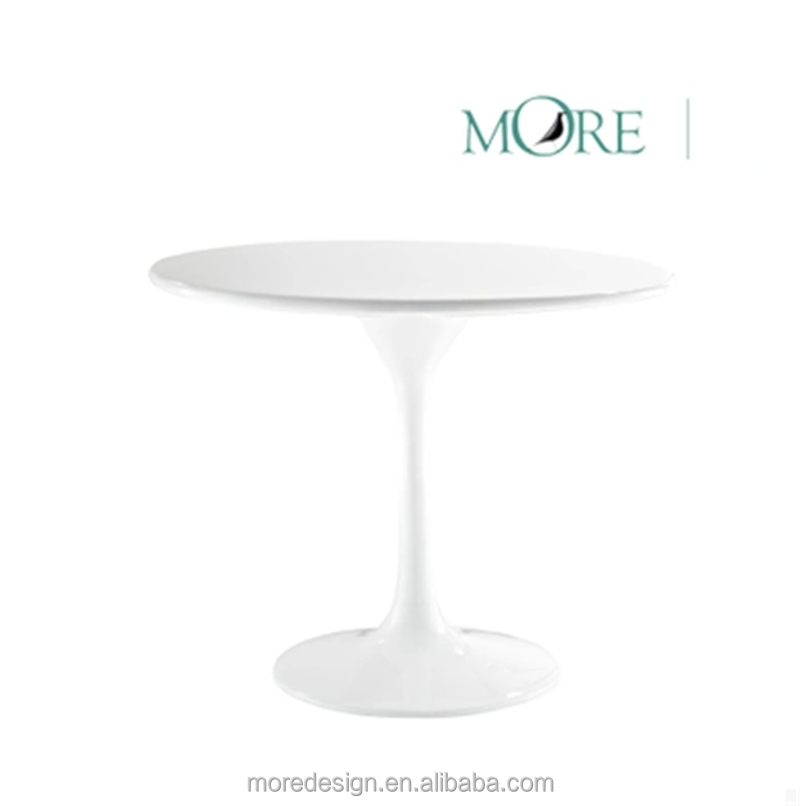 Modern Tulip side table glass dining table coffee table for sale