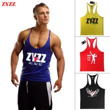 Tank Top Men ZYZZ GASP Golds Gym Fitness Singlets Bodybuilding Stringer Clothing Muscle Shirt Undershirt Vest Regata Masculina