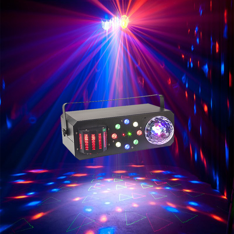 Multi-functional Ball Derby Strobe and Laser 4in1DJ Equipment Eeffct Light