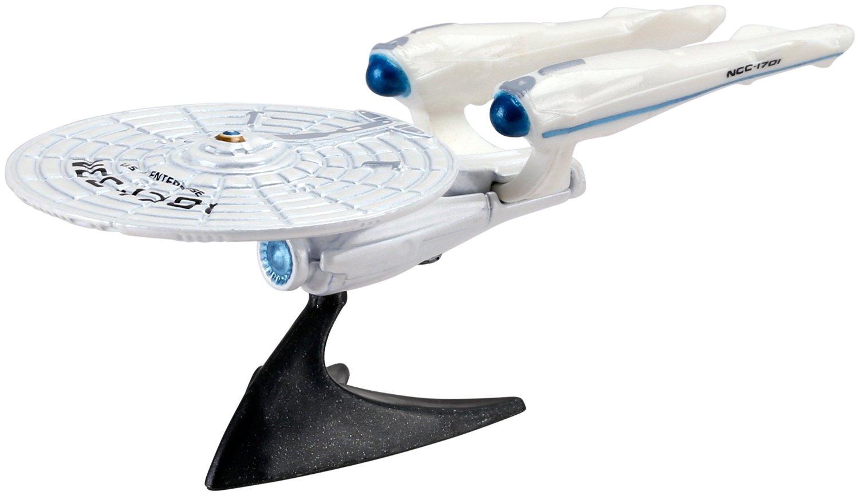 Hot Wheels Retro Entertainment Diecast USS Enterprise NCC-1701 Vehicle