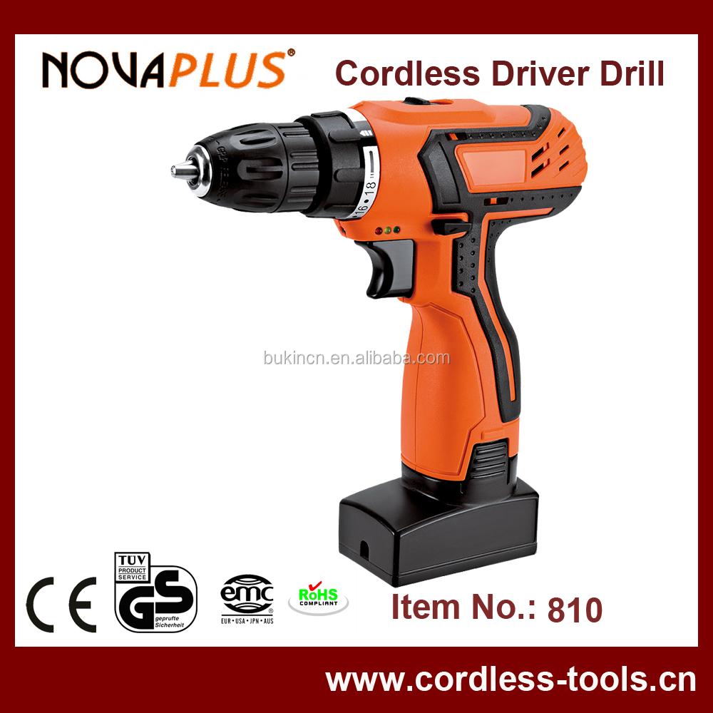 Novaplus 810 Professional Power Tool 18v 10mm Li-ion Cordless ...