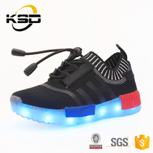 Flashing Children Light Up Sneaker Yeezy Kids Led Running Shoes