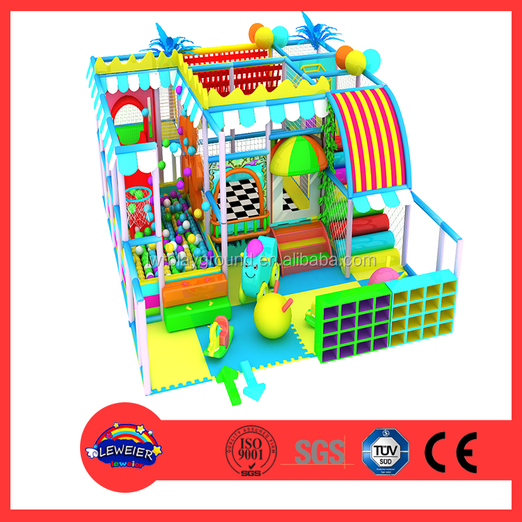 Plastic Equipment of Indoor soft play areas kids play system playground