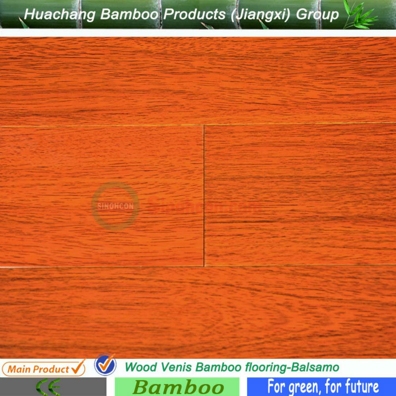 Chinese Top Ten Factory Provided Wood Pattern Click System Bamboo Flooring