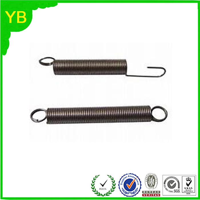 China Professional Factory Galvanized Steel Wire Double Hook Tension Spring
