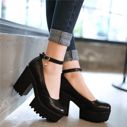 Heeled Dolly Shoes