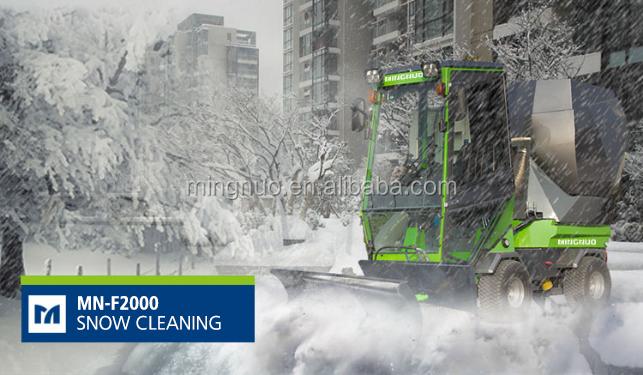 diesel road sweeper