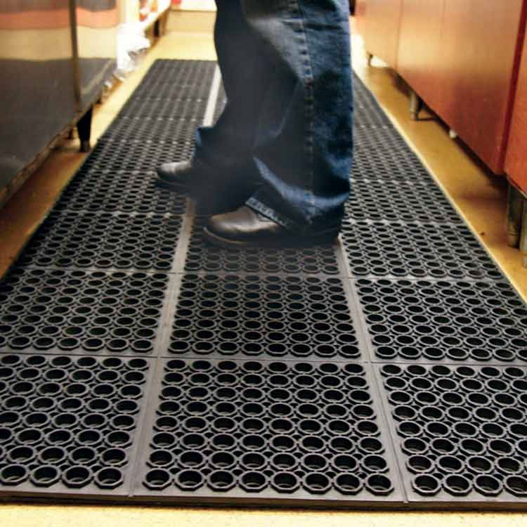 Drainage Chef Rubber Kitchen Floor Mats