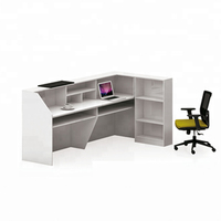 office front desk counter reception table white l shaped front reception desk modern