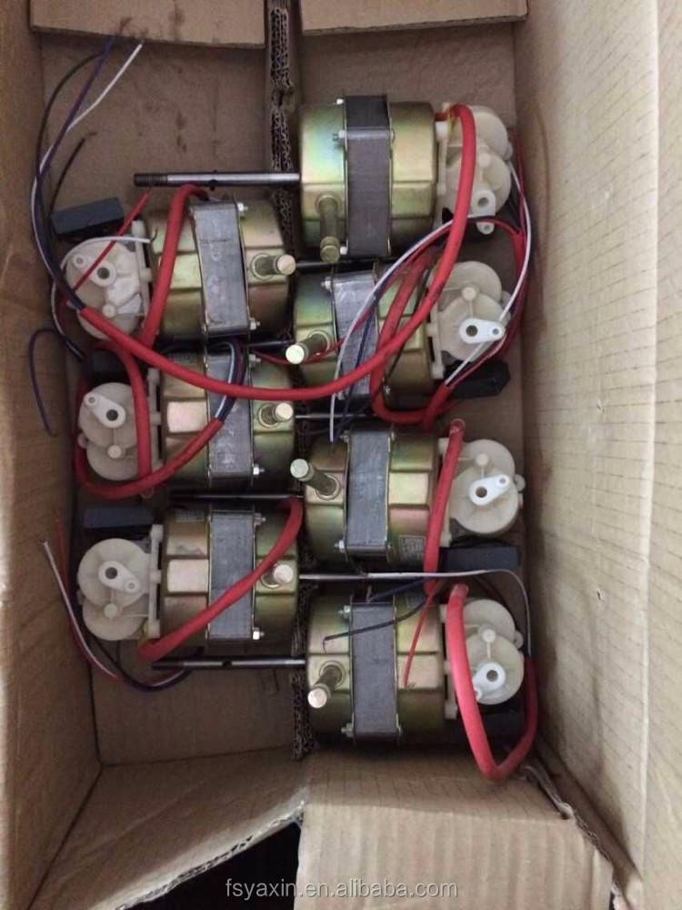 Prix usine bureau ventilateur moteur petit moteur pour