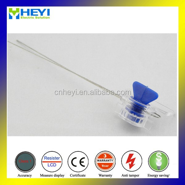 XHM-002 gas meter seal with barcode poly carbonate with stainless wire