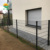 Easy install top quality Europe Popular euro fence  Wood Plastic Composite Fence  WPC fence