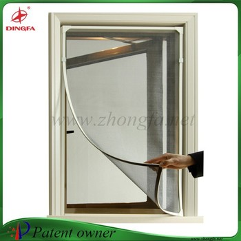 Flexible Magnet Frame Fiberglass Window Screens