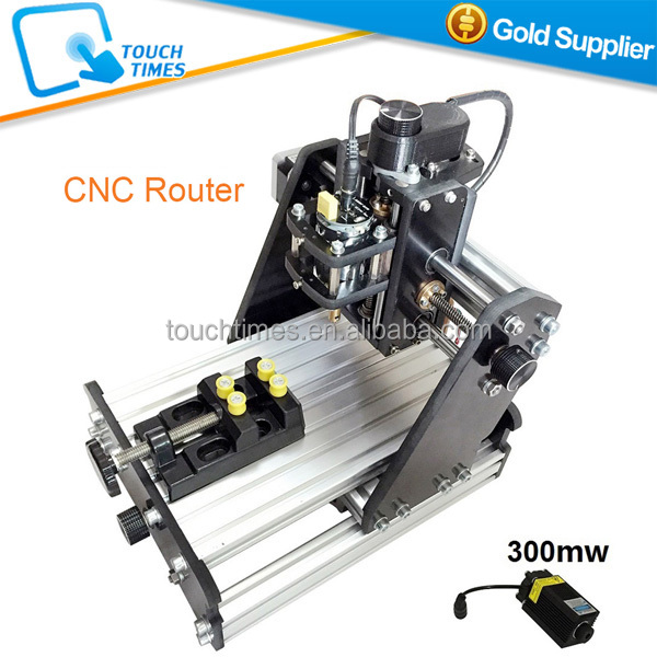 New Arrival 300mw 3 axis CNC mini engraving machine DIY desktop laser engraving machine marking cutting plotter