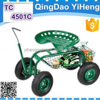 Garden Tractor Scoot With Bucket Basket TC4501C