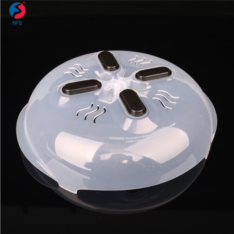 Plastic Magnetic Microwave Splatter Guard Lid Hover Cover