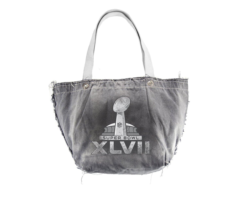 NFL Super Bowl XLVII Vintage Tote Bag, One Size, Black