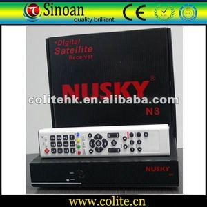 Nusky N3 Strong Satellite Receiver For Nagra3,Support: CA+IKS+PATCH