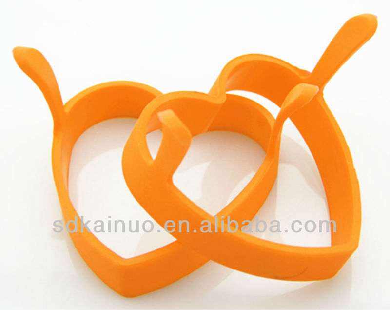 Square Shaped Cooking Silicone Egg Mold,Novelty Egg Ring