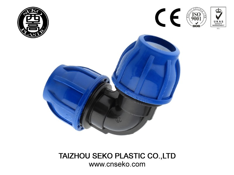 Garden/green hose irrigation system water pipe screw plug/pp compression fittings end cap/cover